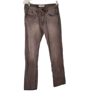 Adidas Originals Denim Gray Salvage Straight Jean
